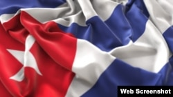 Bandera cubana. (Archivo)