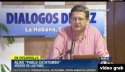 """Alias Pablo Catatumbo: """"Timochenko no ha estado en La Habana""""."""