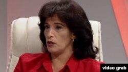 Betsy Díaz Velázquez, ministra de Comercio Interior de Cuba.