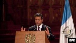 El presidente de México Enrique Peña Nieto. Archivo.