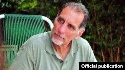 Rene González en una foto publicada en la prensa nacional cubana.