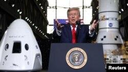 Día histórico: EEUU vuelve al espacio con una nave tripulada