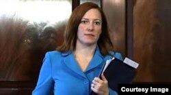 Jen Psaki, portavoz Departamento Estado