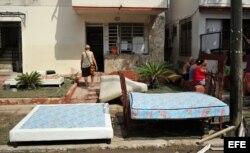 Seguimiento al paso del huracán Irma por La Habana