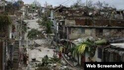 Daños causados por Sandy en Holguín.