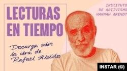 Lecturas en tiempo: Rafael Alcides (Imagen de INSTAR).