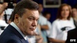 El expresidente ucraniano Viktor Yanukovych en una foto de archivo.