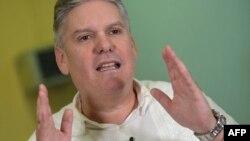 El ministro de Economía de Cuba, Alejandro Gil. (Yamil Lage/AFP)