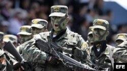 ARCHIVO. Soldados del Ejército ecuatoriano.