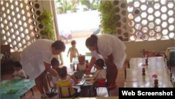 Reporta Cuba. Círculo infantil.