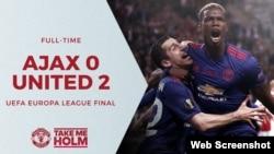 Mánchester United es el campeón de la Europa League.