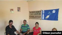 Reporta Cuba. Homenaje a Diaz-Balart en Vueltas, Villa Clara.