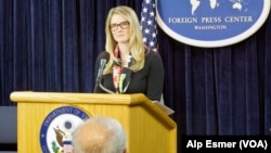 Department of State Deputy Spokesperson Marie Harf