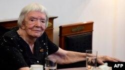 Ludmila Alexeyeva, en una foto de mayo de 2016.