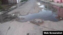 Contaminación en barrios de La Habana fotografía de la RedCubanaCC