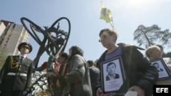 Los ucranianos recuerdan la tragedia de Chernóbil.