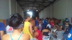 Cubanos varados en Turbo, renuentes a regresar a Cuba