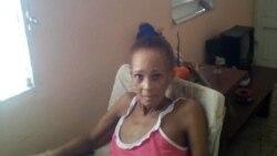 Xiomara de la Mercedes Cruz Miranda es ingresada en cuidados intensivos