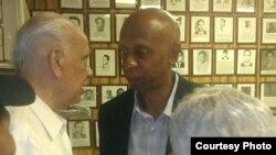 Guillermo Fariñas en Casa del Preso NJ foto publicada en twitter por @jotaviz