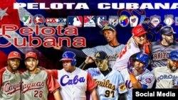 """""""Pelota Cubana"""", sitio en Facebook dedicado al béisbol y los peloteros de la isla. (Facebook)."""