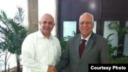 Embajador de Kuwait en La Habana, Bader Al-Awadhi.
