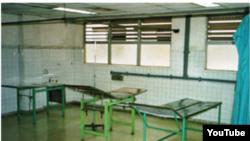 Reporta Cuba. Una sala del Hospital Joaquín Albarrán.