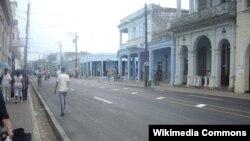 Una calle de Pinar del Río.