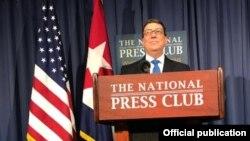 Bruno Rodríguez en The National Press Club.