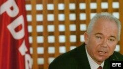 Archivo. El ministro de Energía y Petróleo y presidente de la estatal Petróleos de Venezuela (PDVSA), Rafael Ramírez.