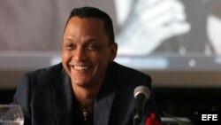 """Samuel Formell, director de la popular orquesta cubana """"Los Van Van"""", e hijo de su fundador, Juan Formell."""