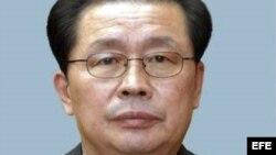 Fotografía sin fechar que muestra a Jang Song-thaek, tío del líder Kim Jong-un