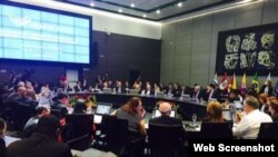 Se reúnen en Quito, Ecuador, los cancilleres de la Unión de Naciones Suramericanas (Unasur).