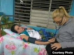 Arianna López huelga de hambre