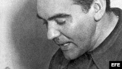 Retrato del gran poeta granadino Federico García Lorca.