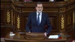 Rajoy habla al Congreso sobre crisis generada por el independentismo catalán