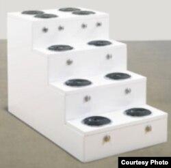 """""""Escalera"""", del colectivo Los Carpinteros fue subastado en Sotheby's por $40,000"""