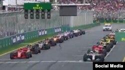 Campeonato mundial de Fórmula-1.