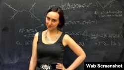 Sabrina Pasterski Gonzalez, joven científica cubanoamericana.