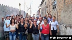 Activistas apoyan a Reyna Luisa Tamayo y salen a las calles de Camagüey 24 de enero de 2010