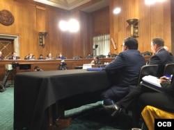 El Subcomité del Senado de Estados Unidos para el Hemisferio Occidental dedicó en enero de 2018 una audiencia a investigar las causas de los trastornos auditivos reportados por diplomáticos estadounidenses y canadienses en La Habana (Foto: Archivo).