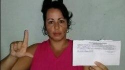 Yanela Reyes acerca del acoso del régimen a la familia