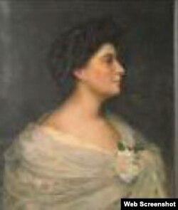 """Retrato de Dama, de Armando García Menocal, una de las obras """"faltantes"""""""