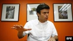 El dirigente opositor Leopoldo López. Foto de archivo
