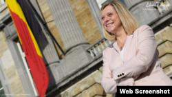 Elaine Tillieux, presidenta de la Cámara de Representantes del Rino de Bélgica