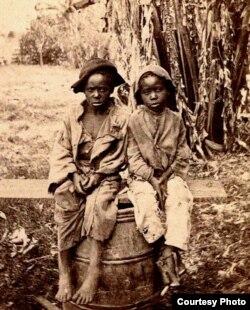 Hijos de esclavos, siglo XIX
