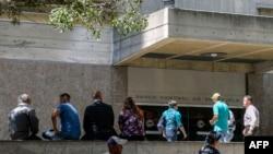 Sede del Banco Central de Venezuela, de donde fue sacado el oro.