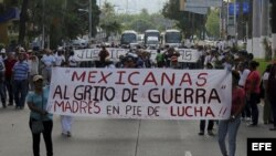 México se apresta hoy a jornada nacional de protestas por desaparecidos.
