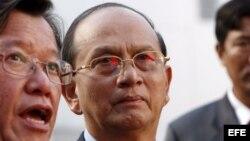 Then Sein presidente y ex general birmano