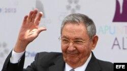 El gobernante de Cuba, Raúl Castro.