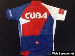 El uniforme del equipo Cuba.